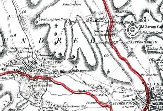 LOCAL MAP 1773