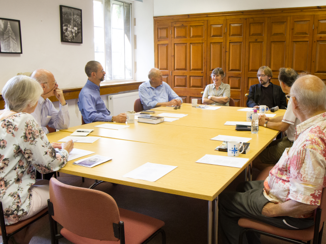 Chris Hodgkins' group discuss 'The Pearl'