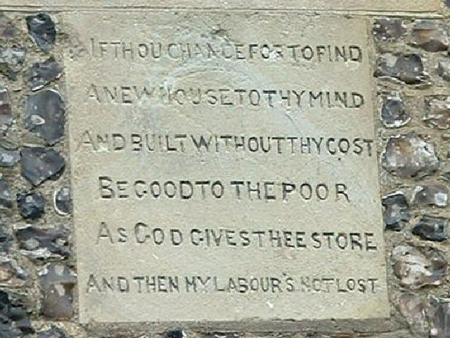 Bemerton Old Rectory tablet